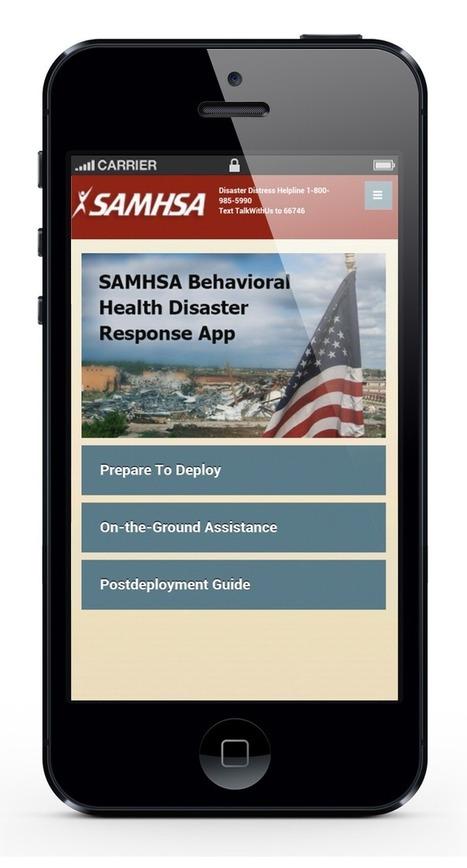 SAMHSA's Behavioral Health Disaster Response Ap... | gestion de crise | Scoop.it