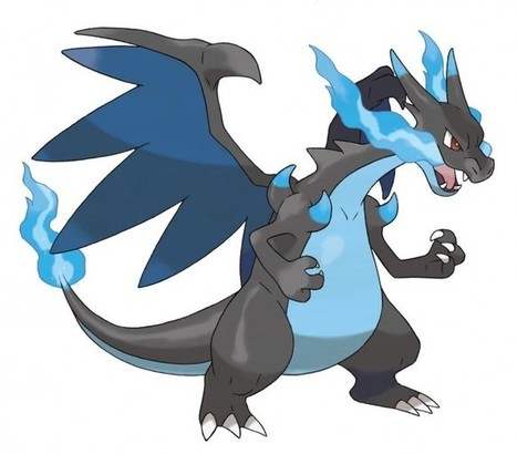 Mega Charizard X exclusivo de 'Pokémon X' | programacion | Scoop.it