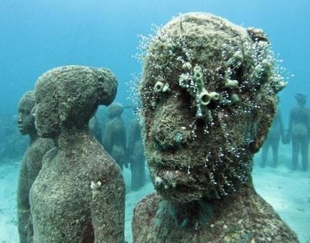 Jason de Caires Taylor: Underwater Sculpture — Daily Art Fixx - Art Blog: Modern Art, Art History, Painting, Illustration, Photography, Sculpture | Normal | Scoop.it