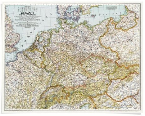 A century of National Geographic maps | History and Social Studies Education | Scoop.it