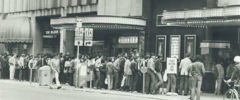 Watch Fans in Line for 'Star Wars' from the '70s to Today | INTRODUCTION TO THE SOCIAL SCIENCES DIGITAL TEXTBOOK(PSYCHOLOGY-ECONOMICS-SOCIOLOGY):MIKE BUSARELLO | Scoop.it