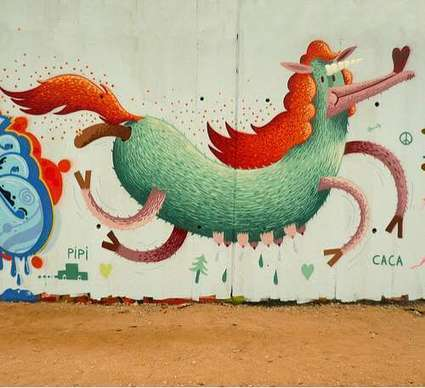 Child-Like Cartoon Graffiti | Arte y Fotografía | Scoop.it