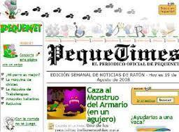 PequeTimes: el diario oficial de PequeNet | Español para los más pequeños | Scoop.it