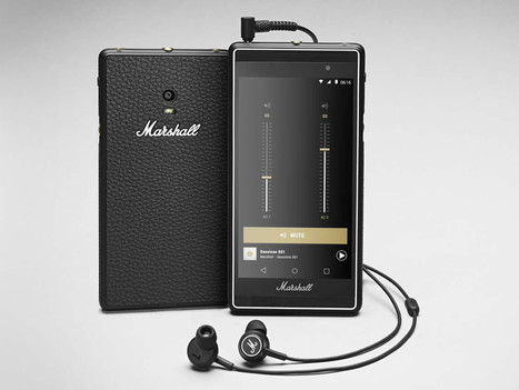 First Phone by Amp-Maker Marshall Is Made for Music Junkies | MUSIC:ENTER | Scoop.it