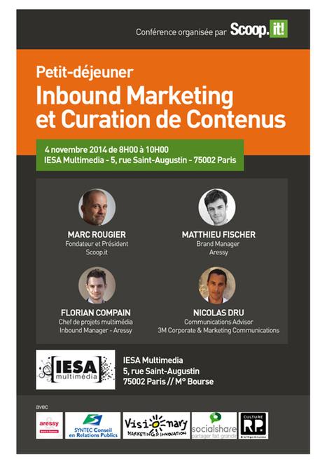 [Novembre 2014] Petit-Déjeuner Scoop It - Inbound Marketing et Curation de Contenus   Mounira Hamdi   Scoop.it