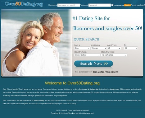 Dating sites 50 and over