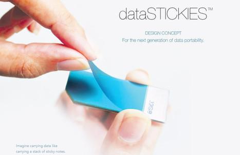 DataStickies, l'invention qui va peut-être rendre le stockage USB complètement obsolète | Innovations, Technologies, Geekeries et Autres | Scoop.it