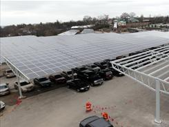 Solar canopy energizes Cincinnati Zoo - USATODAY.com | An Electric World | Scoop.it