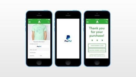 PayPal Rolls Out One-Touch Mobile Checkout For Apps   TechCrunch   E-Labs   Scoop.it