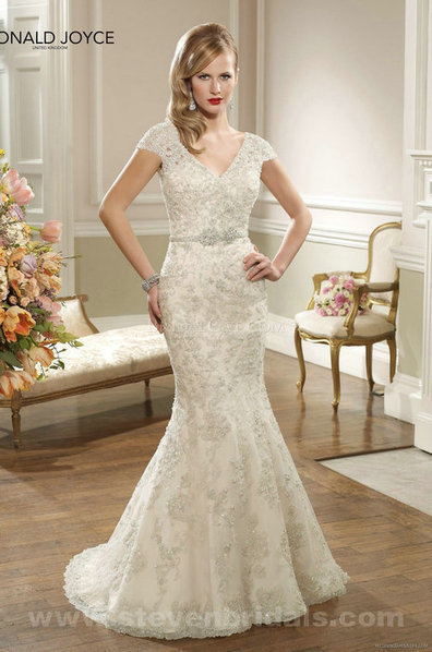 Only Price - $333.00 wedding dresses - Style Ronald Joyce 67055 floor length Mermaid For sale | Maggie-Sottero 2013 | Scoop.it
