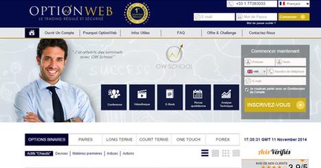 OptionWeb offre 90% de rendement sur les options binaires   Bourse   Scoop.it