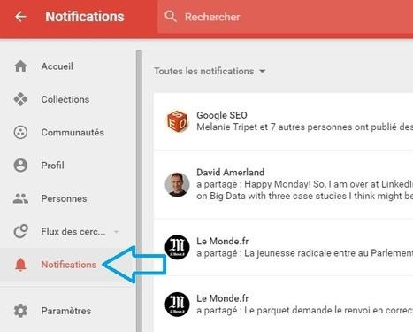 Google+ déploie son nouveau Centre des Notifications   Smartphones et réseaux sociaux   Scoop.it