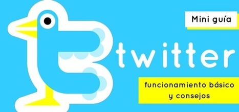 #Twitter: funcionamiento básico y consejos #rrss #socialmedia | #socialmedia #rrss #economia | Scoop.it