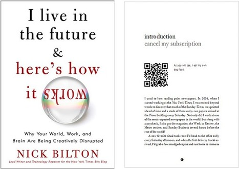 QR Codes - the Gateway to Augmented Reality Books | YouScan.me Blog | A New Society, a new education! | Scoop.it