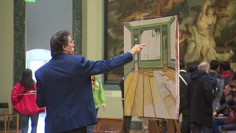 A stroke of genius: Meet the copyists recreating the Louvre's masterpieces | Clic France | Scoop.it