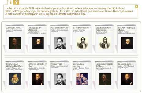 Más de 1.800 ebooks gratuitos para descargar, por cortesía de las #bibliotecas municipales de Sevilla | ideas verdes | Scoop.it