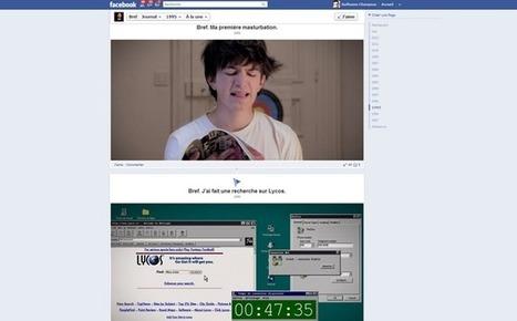 La vie du héros de Bref dans une timeline Facebook | (Media & Trend) | Scoop.it