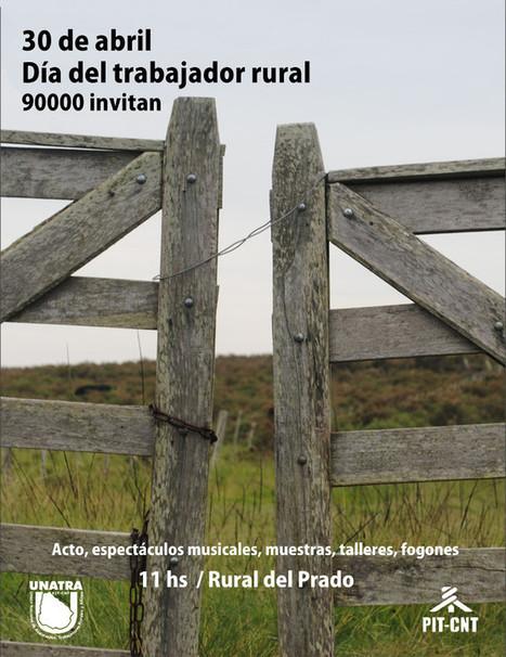 Actividad en el Prado por el Día del Trabajador Rural   Portal de la Udelar   Trabajadores Rurales   Scoop.it