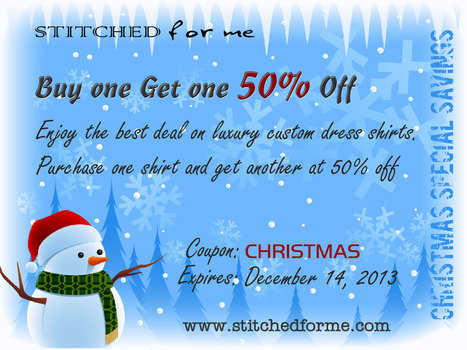 Online Custom Fit Dress Shirt For Men - Tailor Made Shirts by Stitched For Me | Latest Fashion for 2013 | Scoop.it