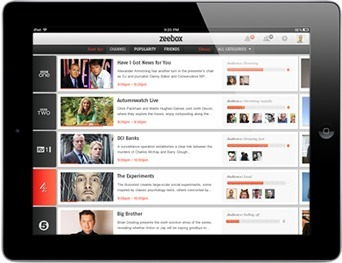 zeebox - a new way to watch television | Film Futures | Scoop.it