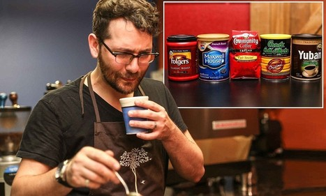 Champion barista's hilarious reactions to taste-testing five supermarket coffee brand | Coffee News | Scoop.it