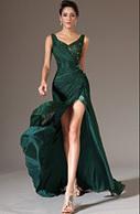 [EUR 129,99] eDressit 2014 Nouveauté Verte V-Décolleté Fente Robe de Soirée(00145704)   les plus belles robes de soirée   Scoop.it