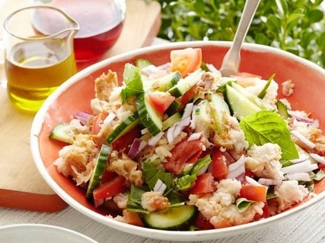 4 No-Cook Spring Salad Recipes | Devour The Blog: Cooking Channel's Recipe and Food Blog | Health in the Laugh Lane | Scoop.it