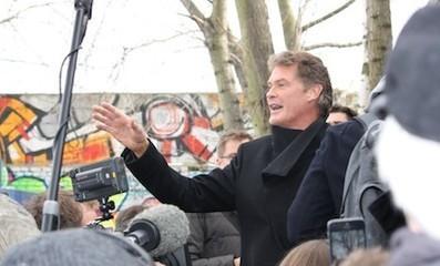 David Hasselhoff rallies support for Berlin Wall - The Local.de | David Hasselhoff News | Scoop.it