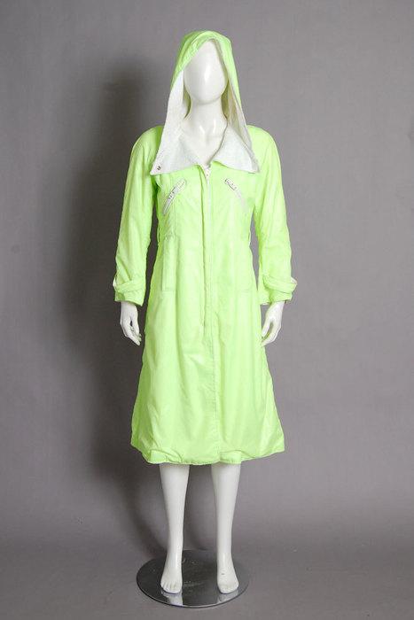 Product of the Day | Neon Raincoat, Frock, Nolita | Spotlight | New York Boutiques | Scoop.it