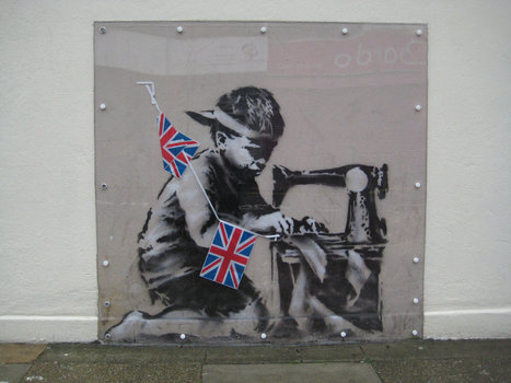 Banksy Work, Taken From London Wall, Turns Up in Miami, for Auction | The History of Art | Scoop.it
