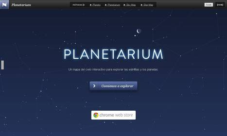 Planetarium - Interactive star map and virtual sky | Historia y Mapas | Scoop.it