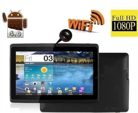 Black thin Android Tablet for Sale | Touch Screen Netbooks | Scoop.it