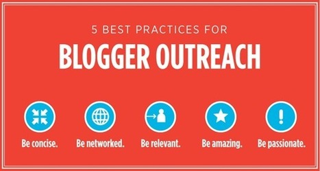 5 Best Practices For Blogger Outreach | SEJ | Social Media, SEO, Mobile, Digital Marketing | Scoop.it