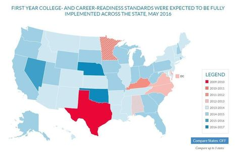 States Still Working to Align Tests to Standards, New Map Shows | Common Core Online | Scoop.it