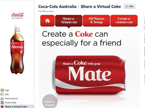 "Coca-Cola Replaces Brand With Fan Names For Viral Campaign | ""#Google+, +1, Facebook, Twitter, Scoop, Foursquare, Empire Avenue, Klout and more"" 