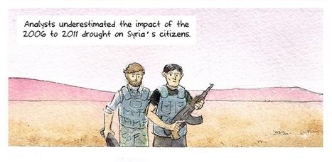 Lisez la BD qui explique que le changement climatique est l'une des causes du conflit syrien | Défricheur XXI | Scoop.it