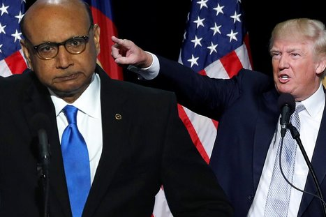 Chicken Hawk Trump Mocks Captain Khan's Mother | Public Relations & Social Media Insight | Scoop.it