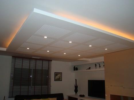 Plafond suspendu - définition,rôle,avantage,installation avec photos | plafond suspendu | Scoop.it