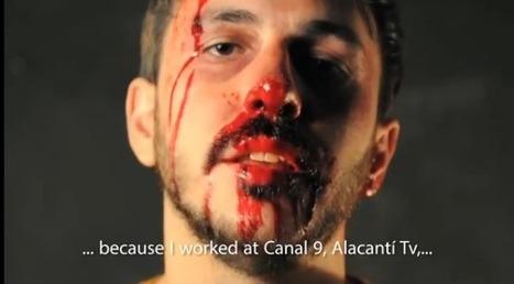 Video. Le cri d'un journaliste sans emploi couvert de sang | Les médias face à leur destin | Scoop.it