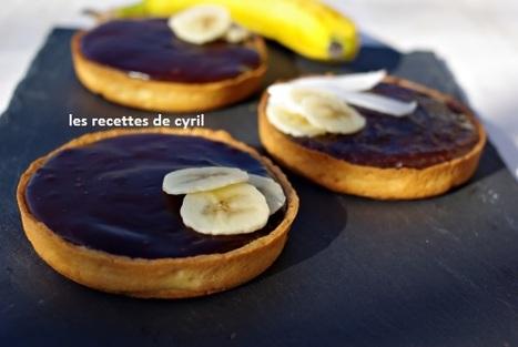 Tartelettes fondantes chocolat-bananes | Recettes de cuisine | Scoop.it