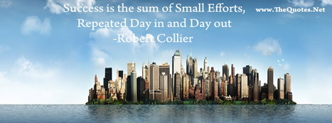 Facebook Cover Image - Robert Collier Quote - TheQuotes.Net | Facebook Cover Photos | Scoop.it