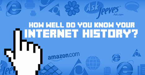 How Well Do You Know Your Internet History? | Digital Marketing | Scoop.it