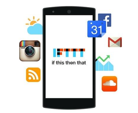 Las mejores recetas de IFTTT en Android. Una combinación imprescindible y ganadora | Educacion, ecologia y TIC | Scoop.it