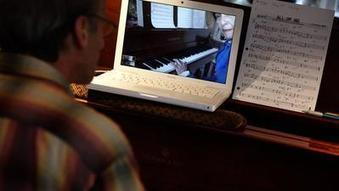 For a piano teacher on Skype, lessons in the key of see | Playing Piano: Hints and Tips | Scoop.it