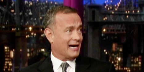 Tom Hanks Reveals Startling Health News On 'Late Show With David Letterman ... - Huffington Post   Everyday Geek Girl Stuff   Scoop.it