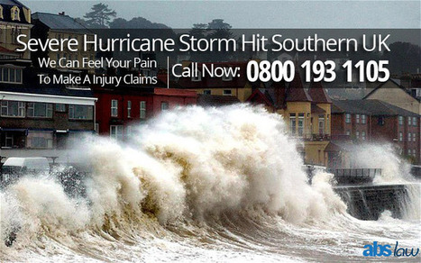 Severe Hurricane Storm Hit Southern UK | Personal Injury Claim Compensation | My Website / Blog | Public Liability Claims in UK | Scoop.it