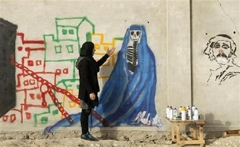 Afghan female artist beats the odds to invigorate Kandahar's art scene | A Voice of Our Own | Scoop.it