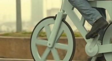 Israël invente le vélo en carton recyclé : 7€ pièce pour révolutionner le transport moderne !   RoBot cyclotourisme   Scoop.it