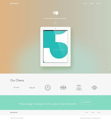 12 Beautiful Examples of Flat UI Design | Inspihive | Put it in Print with JMGA Design Group | Scoop.it