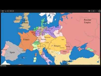 Watch as 1000 years of European borders change | Banco de Aulas | Scoop.it